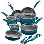 Rachael Ray 15-Piece Hard Enamel Nonstick Cookware Set Just $99.99 (Reg. $290)