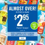 Bath & Body Works Hand Soaps Just $2.95