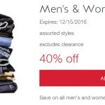40% OFF Men's & Women's Jeans (Today Only!)